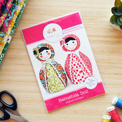 Babushka Doll Pattern HARD COPY Paper Sewing Pattern