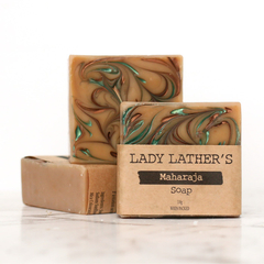 Maharaja Soap • Handmade Soap • Luxury Soap • Vegan Soap • Palm Free Soap • 1 Ba