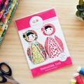 Babushka Doll Pattern HARD COPY Paper Sewing Pattern
