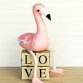 Flamingo Soft Toy HARD COPY Paper Sewing Pattern Rosie Flamingo Sewing Pattern