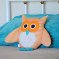 Owl Sewing Pattern HARD COPY Owl Softie Pattern Stuffed Animal