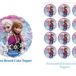 Edible Disney Frozen Cake/Cupcake Pack