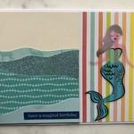Have a Magical Birthday, Mermaid Card