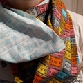 Next Stop! A hand crafted infinity scarf made with quality cotton fabric.