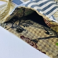 Boho patchwork crossbody bag. A unique one of a kind handmade gift.