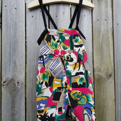 The Fraser Overalls in Tamworth Print.
