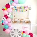 LOL Happy Birthday Banner, LOL Theme Birthday Banner, Pastel Birthday Banner