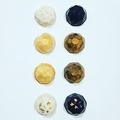 Edible Chocolate Gems Black/White/Gold x 4 Gift Boxed