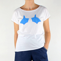 Blue Footed Booby Organic Cotton T- shirt