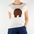 Wombat Organic Cotton T- shirt in Natural