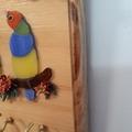 Mosaic Finches Key Holder