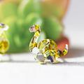 Dinosaur Stud Earrings ✧ Surgical Steel ✧ Acrylic Jewellery ✧ Gold & Silver
