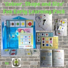 'Colour, Shape and Size' Fun Early Learning Pack