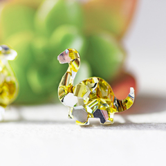Dinosaur Stud Earrings ✧ Surgical Steel ✧ Acrylic Jewellery ✧ Gold & Silver