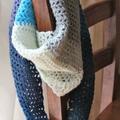 Spirit triangle crochet scarf