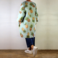 Oversized Pineapple Coat