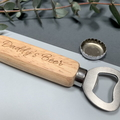 Personalised bottle opener - Daddy's beer - Christmas gift for Dad, Grandpa