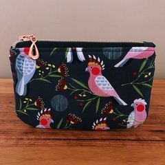 Coin purse - Pink Cockatoo