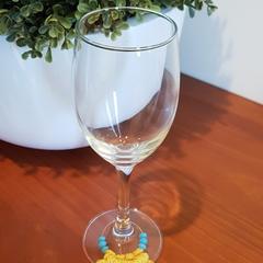Macrame Wine Glass Charms