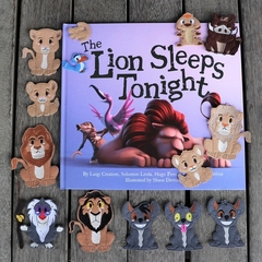 The Lion King Finger Puppet Set
