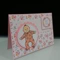 Baby Girl Card - Sweet Thing