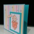 Baby Boy Card - Precious