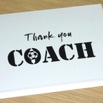 Coach thank you card - Soccer Basketball Netball Football