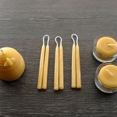 Hypoallergenic beeswax candles. Allergy/asthma friendly home fragrance. Natural,