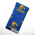 Sunglasses Pouch in West Coast Eagles Fabric