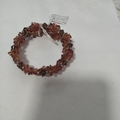 Brand New Handmade Orange And Brown Wrap Around Anklets