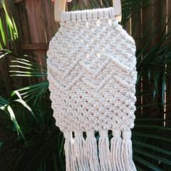 'Sienna' Macramé Handbag