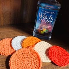 Crochet Face Scrubbie Pack