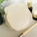 Super soft bamboo reusable makeup removers. Washable facial rounds.