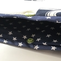 XL Padded book sleeve. Laptop or tablet protector.