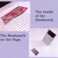 White Butterfly Magnetic Bookmarks Set - Laminated Limited Edition Bookmarks