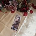 Paris Eiffel Tower Bookmark