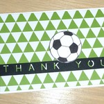 Thank you Coach card - Soccer Basketball Netball