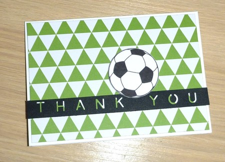 Thank you Coach card - Soccer Basketball Netball