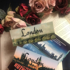 London Bookmarks - Set of 2 Bookmarks featuring London Monuments