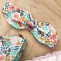 Size 5 - Smock Top - Cream Floral - Organic - Cotton -