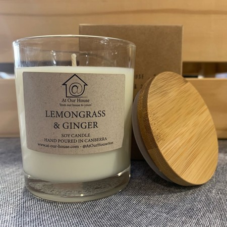 Lemongrass & Ginger Soy Candle