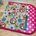 A4 Reading folder - Woodland Floral