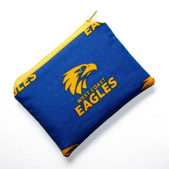Small Coin Purse in Football Team Fabric