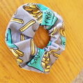 Devonport Scrunchie in Fries print.