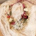 boho wedding necklace, beaded fairy necklace