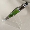 Emerald green acrylic stylus pen