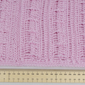 Cowl 100% Australian wool in pretty pink