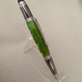 Emerald green acrylic stylus pen