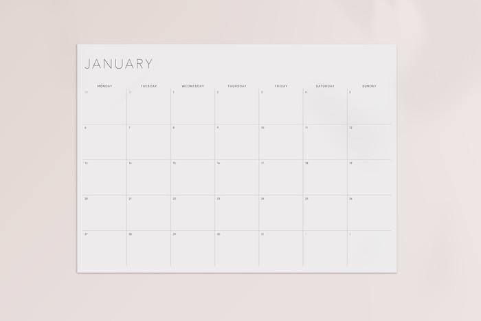 2020 Planner Printable Minimal - A4   PhilomeneCo on Madeit