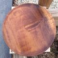 Beautiful hand turned platter from Brazilian walnut timber.